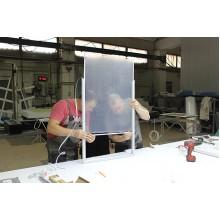 Эксперимент с пленкой для тонких световых коробов Lux Film
