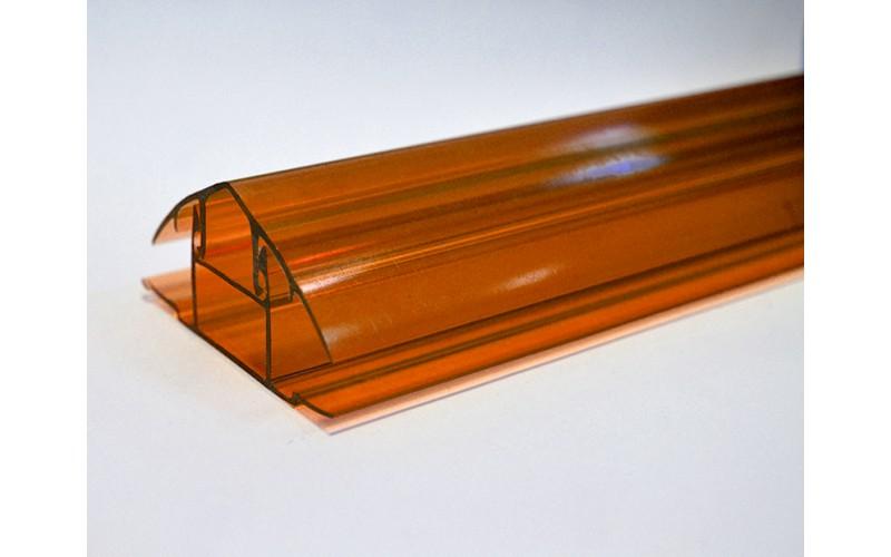 Профиль Novattro НСР 6-10*6000 мм (терракот) (крышка)