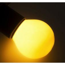 Лампочка LED-G45-yellow