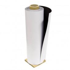Магнитный винил 0,5мм с ПВХ покрытием для печати глянц. 0,62*30 м