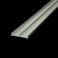 Профиль слайд. 62 мм серебро матовое