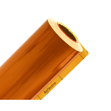 Плёнка светоотраж. ТМ 3100 (1,22мх45,72м)  оранжевая