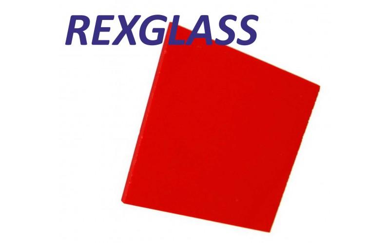 Акрил. литое стекло REXGLASS красный 139 2050*3050*3