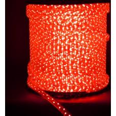 Светодиодн.шнур 20*11мм LED  -4W 100m красный