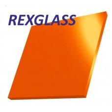 Акрил. литое стекло REXGLASS оранжевый 266 2000*3000*3