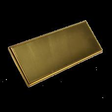 Табличка под золото