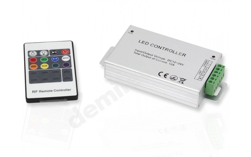 Контроллер RGB RF 12A 20кн 12/24V