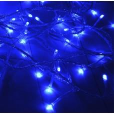 Светодиодный стринг LED-PL-200-18m blue прозр. м контроллером