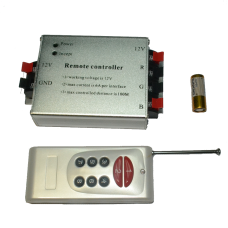 Контроллер для светодиодов BD-RGB, D-12 с пультом