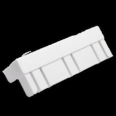Уголок соединительный для пласт.130 мм