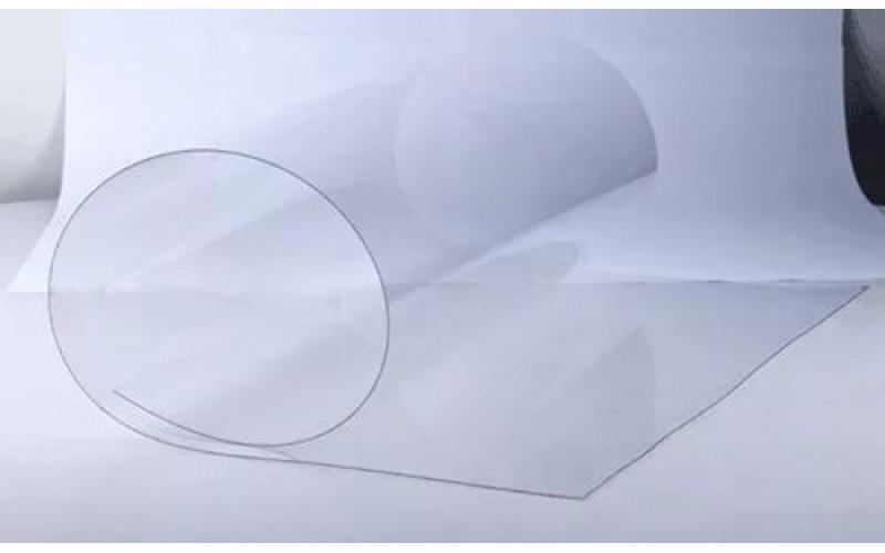 ПЭТ- А Novattro 1250 х 2050 х 0,5 мм прозр.