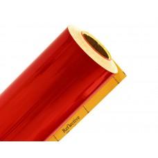 Плёнка светоотраж. ТМ 3100 (1,24мх45,7м)  красная