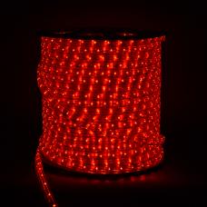 А4 Светодиодн.шнур 17*11мм LED  -3W 100m красный