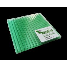 Лист СПК Novattro  04мм  зелёный, 2,1*12м