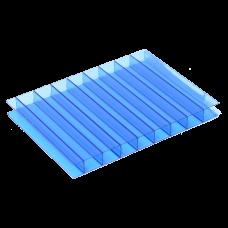 Лист СПК Казанский  06мм  синий, 2,1*12м