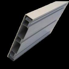 Пластиковый профиль 60мм дл.4м (белый)