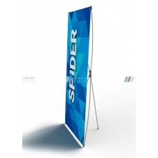 Мобильный стенд Х-обр. СПАЙДЕР 165х65см