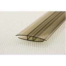 Профиль Novattro НР 8*6000 мм(бронза) неразъемный