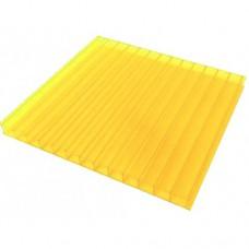 Лист СПК Novattro  04мм  жёлтый 2,1*12м