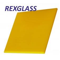Акрил. литое стекло REXGLASS жёлтый 235 2050*3050*3