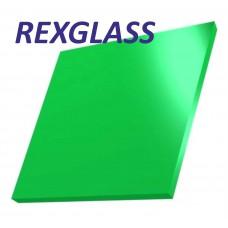 Акрил. литое стекло REXGLASS зелёный 347 2050*3050*3