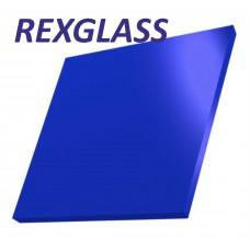Акрил. литое стекло REXGLASS синий 327Е 2050*3050*3