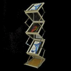 Подставка для печатной продукции Folding Shelf (LS-2)