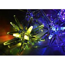 Гирлянда светодиодная с насадками <<Кристалл>>